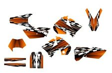 2005 2006 2007 KTM EXC 125 250 450 525 graphics deco kit #2500 Orange