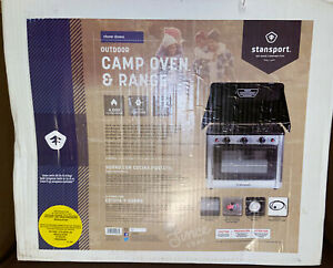 *New* Stansport Outdoor Camp Oven and Range - Combo Burner and Oven