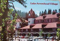 Vintage Postcard Lake Arrowhead Village CA 1980s