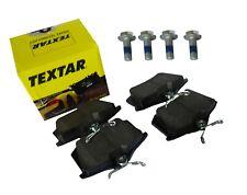 TEXTAR Bremsbeläge hinten 2355402 inkl. 4 Schrauben für Audi Seat Skoda VW etc.