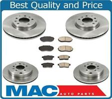 07-12 CX7 Front & Rear Disc Brake Rotors & Ceramic Brake Pads 100% All New 6pc