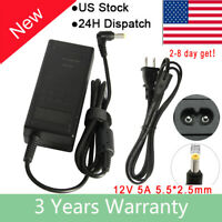 HP 27x Curved computer PC TV monitor power supply ac adapter cord cable charger
