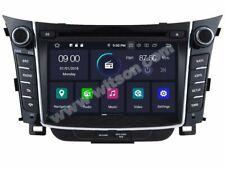 "AUTORADIO 7""HYUNDAI I30 2012 Navigatore Comandi Android 9.0 4gb 32gb USB"