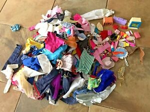 HUGE Lot Vintage Barbie Doll Clothing Accessories 185+ Pcs