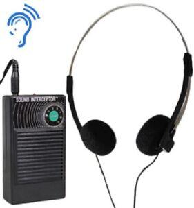 Super Ear Sound Interceptor/Amplifier Magic Atomic Hearing Enhancer Booster Aid