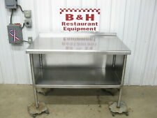 4 Stainless Steel Heavy Duty Kitchen Work Table Cabinet 48 X 30