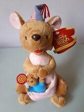 Disney Kanga & Roo Mama Baby Kangaroo Plush Stuffed Animal Soft Toy Doll