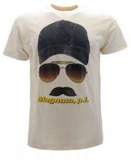 T-Shirt Original Magnum P.I.Officiel Série Âge 80 2018 USA Action Beige