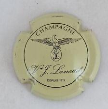 capsule champagne LANAUD J. n°4 crème et noir