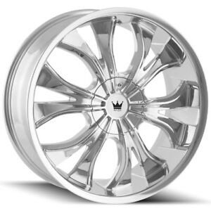 "Mazzi 342 Hustler 22x9.5 6x135/6x5.5"" +30mm Chrome Wheel Rim 22"" Inch"