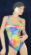 super sexy Lycra Glanz Badeanzug, Body, schimmernd, Gr. 38, Swim-Suit, Body
