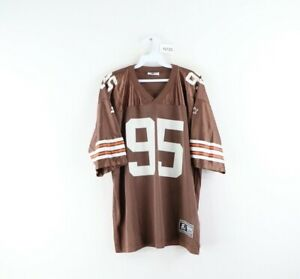 Vintage 90s Starter Youth XL Cleveland Browns Jamir Miller Football Jersey Brown