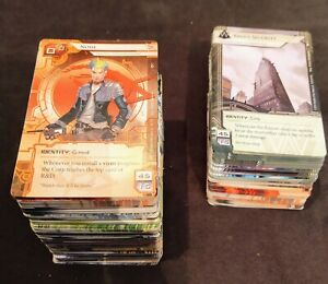 Android Netrunner Core + Order and Chaos Deluxe Exp NM! (Cards Only) FREE SHIP