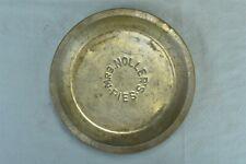 Vintage ADVERTISING MRS NOLLER'S PIE PAN TIN METAL FARMHOUSE DECOR #00597