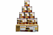 Survival Cave Food Canned Beef - Food Storage 12 Cans - 28 oz each