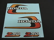 1975 Honda Z50 K6 Gas Tank and Side Panel decals