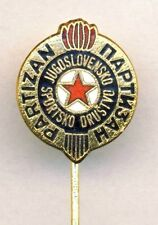 old PARTIZAN BELGRADE pin BADGE Yugoslavia SOCCER Football Serbia BEOGRAD