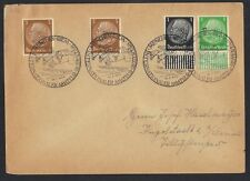 Germany 1939-56 Five Covers & Card With Commemorative Cancels