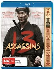 13 Assassins (Blu-ray, 2012) brand new sealed - region ABC - Samurai