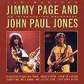 John Paul Jones - The Masters, No Introduction Necessar... - John Paul Jones CD