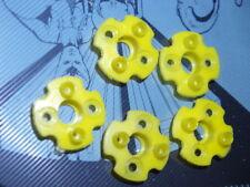 Pop Jet Pare-chocs bases jaune x5 (5pcs) Flipper Flipper new old stock