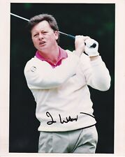 Golf IAN WOOSNAM Signed 1993 Dunhill British Masters 10x8 Colour Press Photo