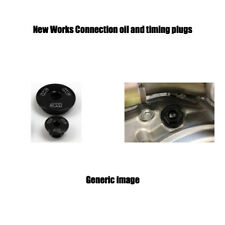 03-05 YAMAHA YZ450F BLACK Works connection engine plug set oil timing plugs kit