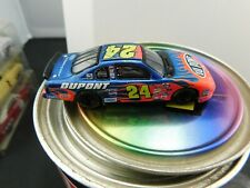 Jeff Gordon No. 24 DuPont 2002 Monte Carlo 1:64 Car in DuPont Paint Can #mj27