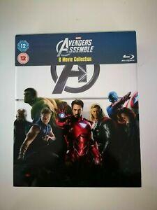 Marvel's The Avengers   6-Disc Box Set   Blu-Ray   VGC   Free Shipping