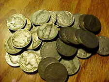 Vintage Coin Collection of Nickel Liberty, Buffalo & Silver Jefferson