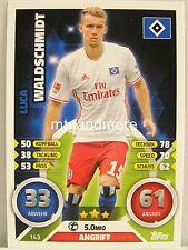 Match Attax 2016/17 Bundesliga - #143 Luca Waldschmidt - Hamburger SV