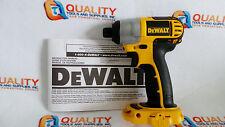 "New Dewalt DC827 18V Cordless 1/4"" Hex Impact Driver w/ Nano Base -  Bare Tool"