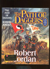 Jordan, Robert: Wheel of Time #8: The Path of Daggers ** Signed ** HB/DJ 1st/2nd