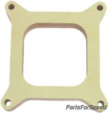 "AED 6170 Holley Birchwood 1"" Open 4150 Carburetor Spacer Square Bore"