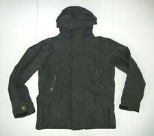 BURTON DryRide Gray Nylon Shell SNOWBOARD JACKET Winter Ski Gear Coat Sz Men's L