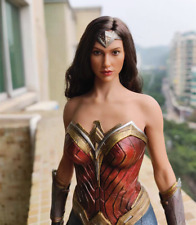 "1/6 Wonder Woman A Ver. Head Sculpt For 12"" Hot toys PHICEN Figure Body Model"