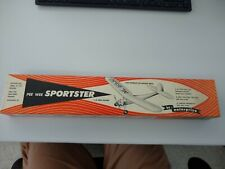 Pee Wee Sportster 1/2 A Free Flight Model Airplane Original Packaging!