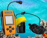 Portable Fishing Sonar, Handheld Wired Fish Finder Fishfinder Alarm Sensor