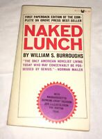 Naked Lunch William S. Burroughs Grove Press Black Cat Press 1966 Kerouac Rare