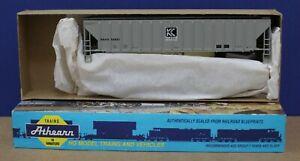 Athearn 6139 HO 54' PS Covered Hopper Kit Koppel #46881 NIB
