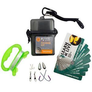 Ultimate Survival Tech 20-02765 Learn & Live Fishing Kit