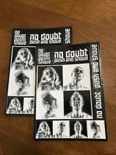 """No Doubt - Push and Shove STICKERS - 2 COUNT -  New 5"""" x 7"""" Stickers"""