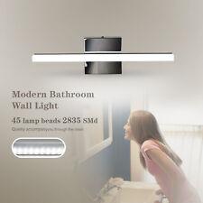 Stainless Steel Bathroom Vanity LED Light Front Mirror Toilet Wall Lamp Fixture