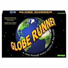 GLOBE RUNNER – Educational fun family board game for both kids and adults that