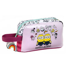 Minions Pink Insulated Breakfast Lunch Bag Family Pink RRP £9
