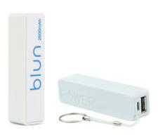 Batteria Esterna Portachiavi Power Bank Micro USB Universel 2600 mAh (Bianco)
