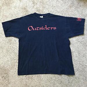 WCW Outsiders Kevin Nash Scott Hall Vintage T-shirt XXL NWO 90s Wrestling