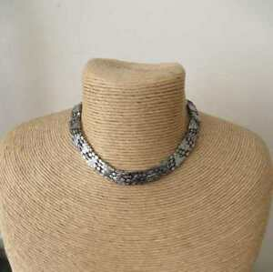 Urban Outfitters silver diamante choker necklace brand new, unworn RRP £12