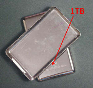 NEW 128GB/256GB/512GB/1T Customizing Metal Back Cover for Ipod classic video