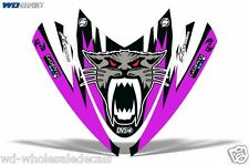 Hood Wrap Decal Nose Graphic Arctic Cat M Series Crossfire Sled Snowmobile AC PU